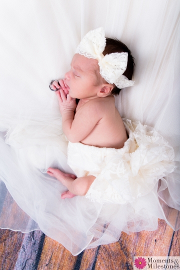 Welcome Baby Moira San Antonio Newborn Studio Photography