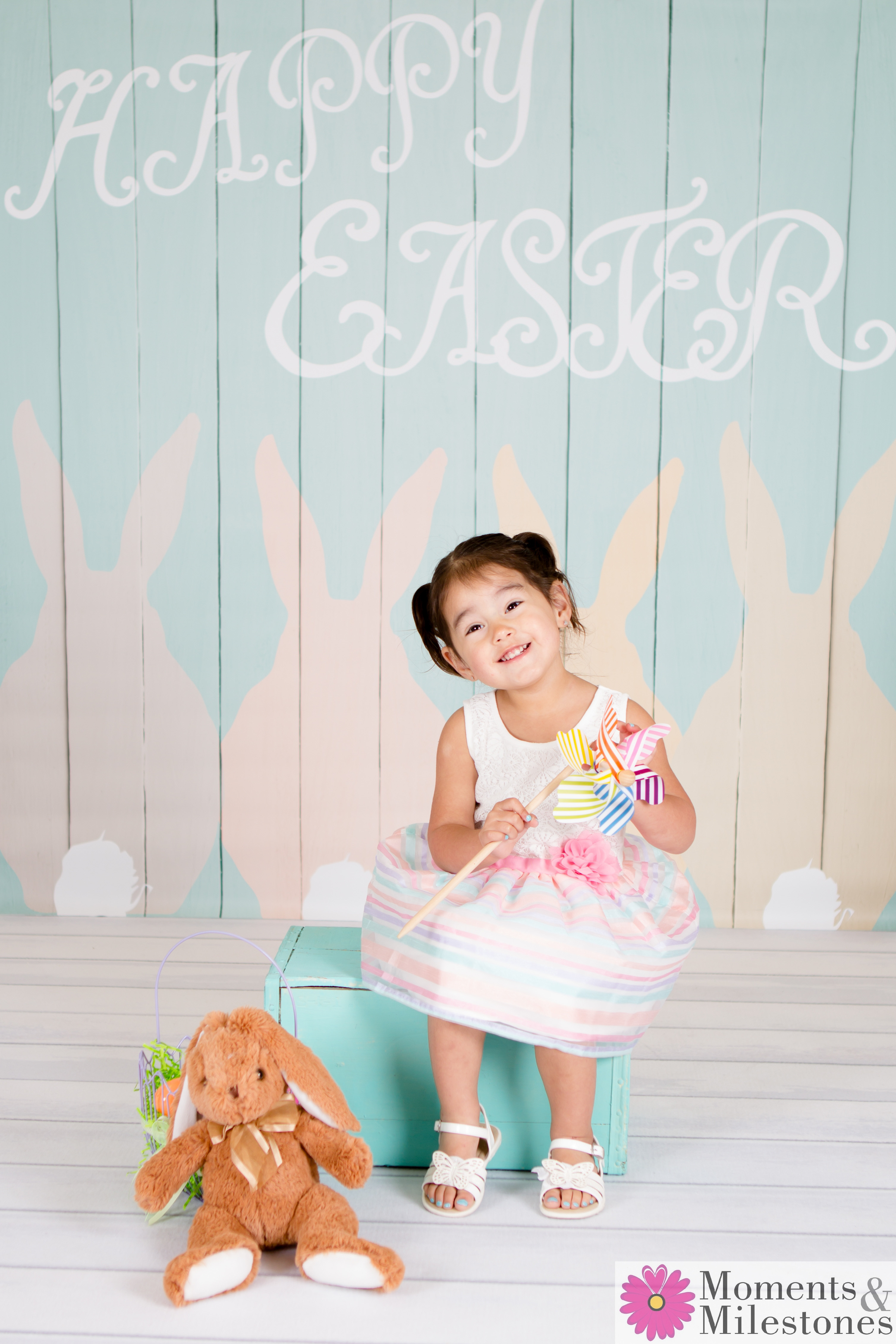 Easter Mini-Session Moments & Milestones Studio Photography San Antonio Family and Children Sessions (1)