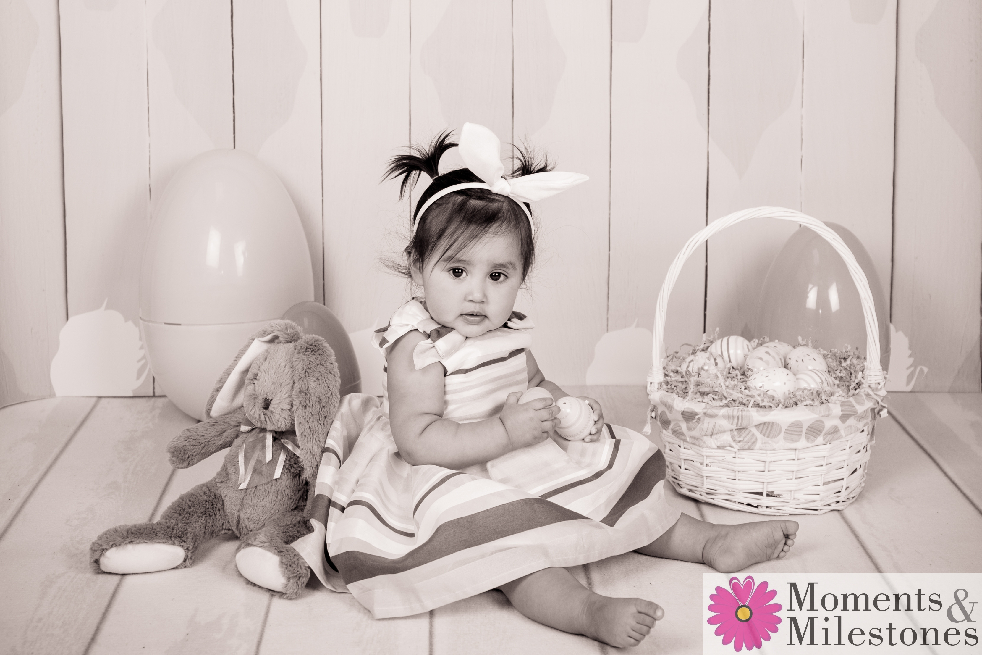 Easter Mini-Session Moments & Milestones Studio Photography San Antonio Family and Children Sessions (5)