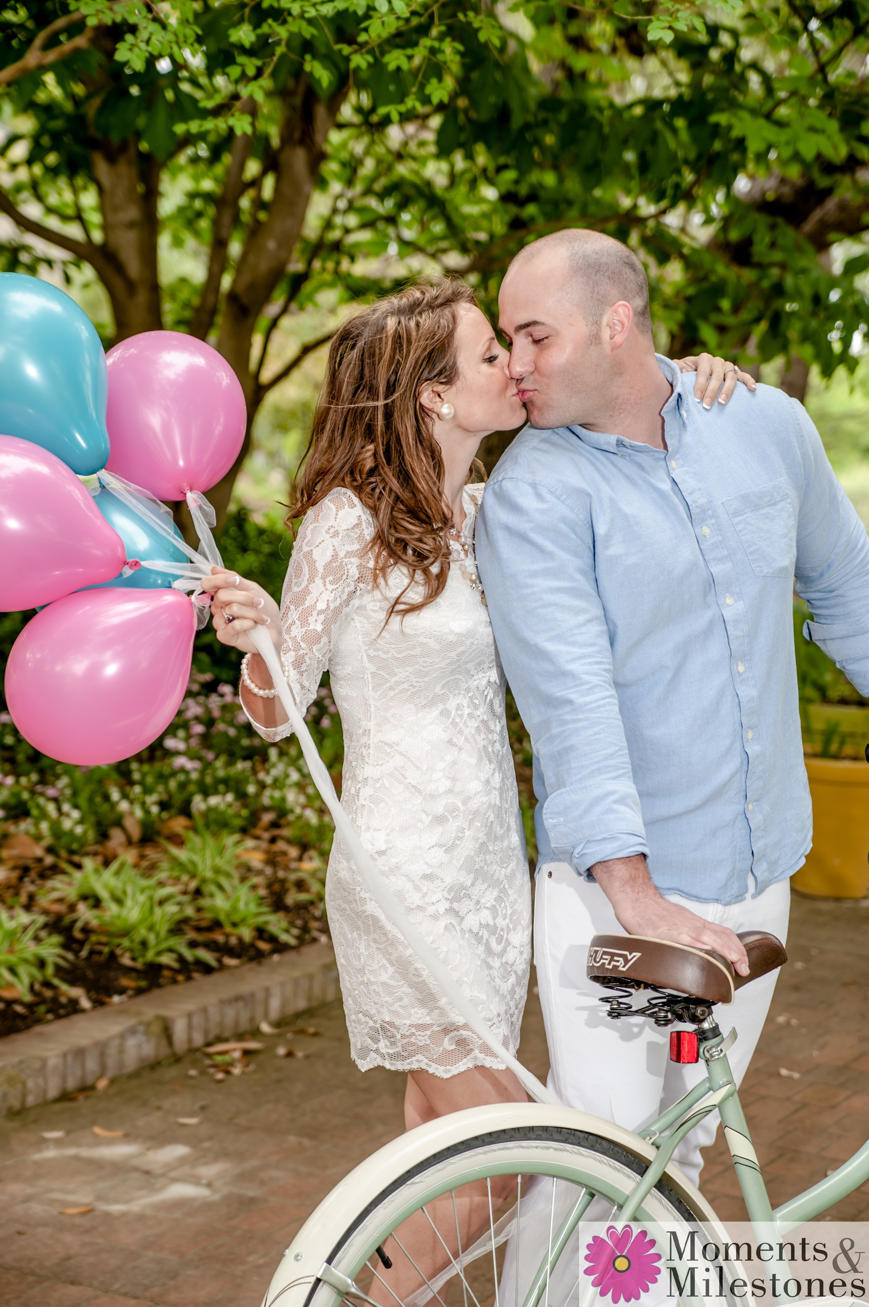 San Antonio Botanical Gardens Engagement Session Photography Wedding Planning