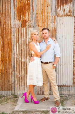 Katelyn & Luke's Gruene Engagement Session