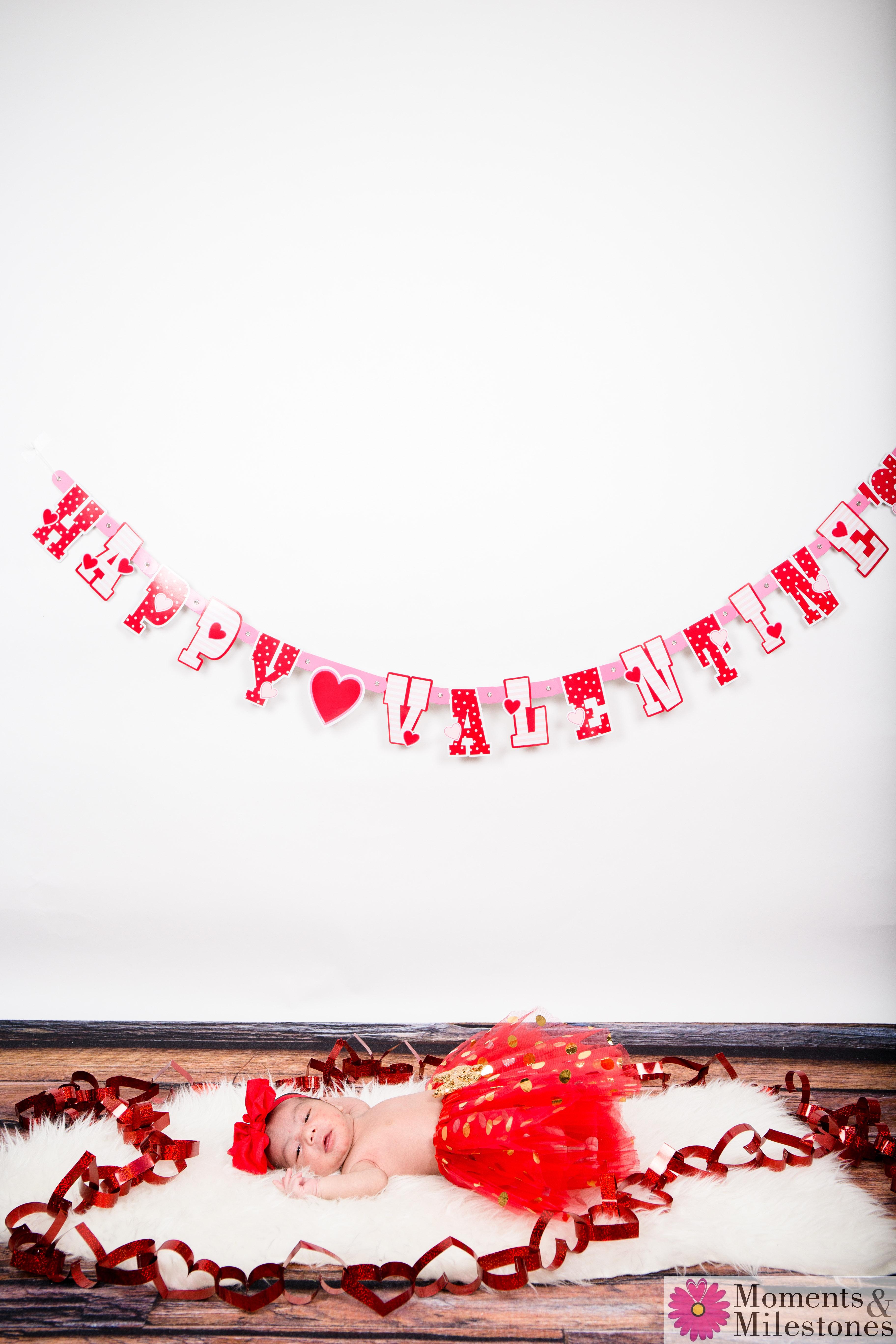 Valentine Monthly Mini-Sessions Moments & Milestones Studio