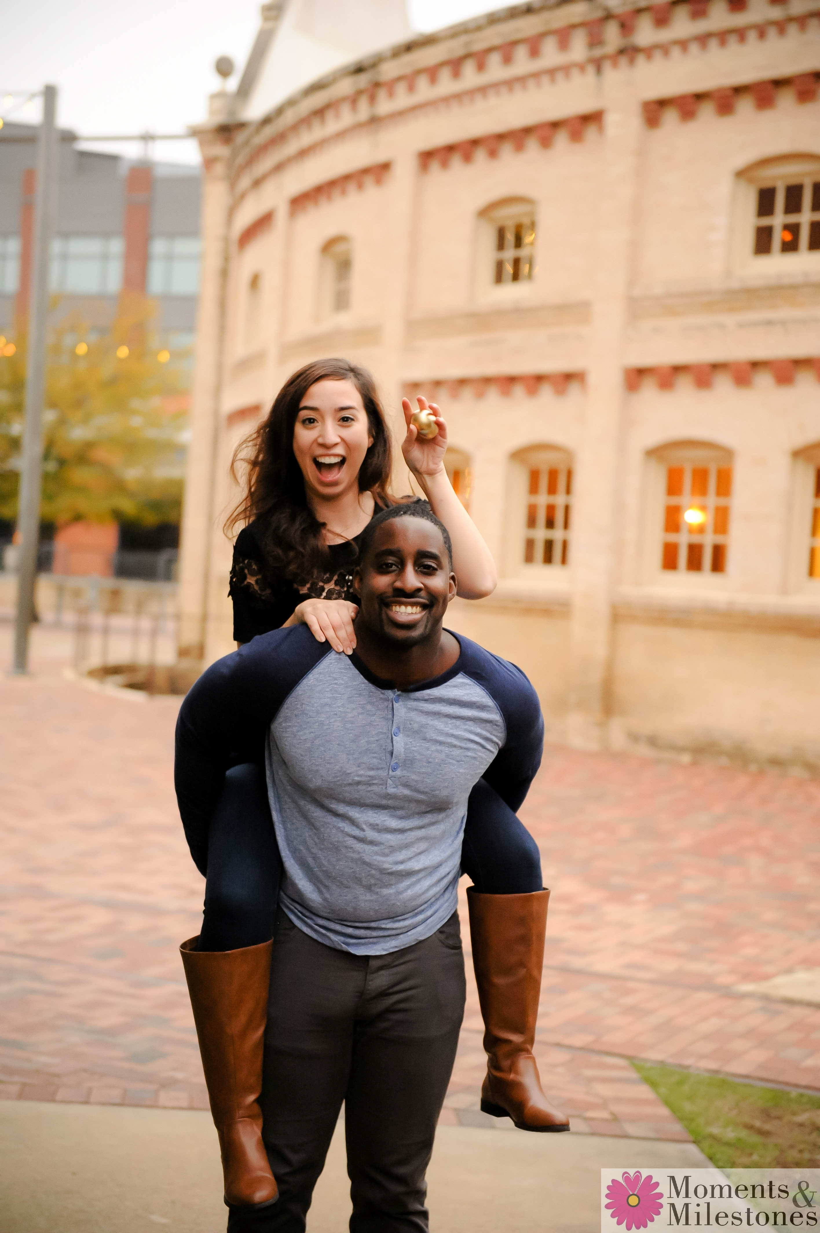 San Antonio Engagement Photography at The Pearl