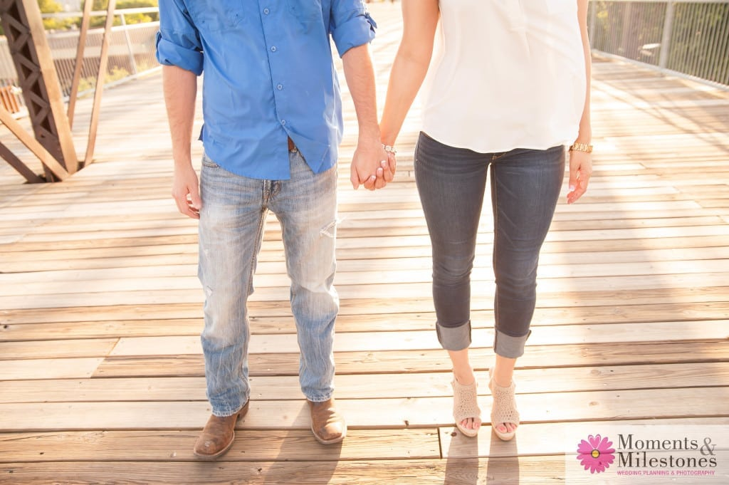 Contemporary Engagement Photography at The Pearl in San Antonio, Texas
