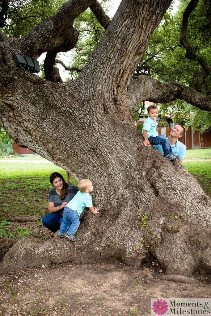 Beautiful Family Photography Session Gruene San Antonio Texas