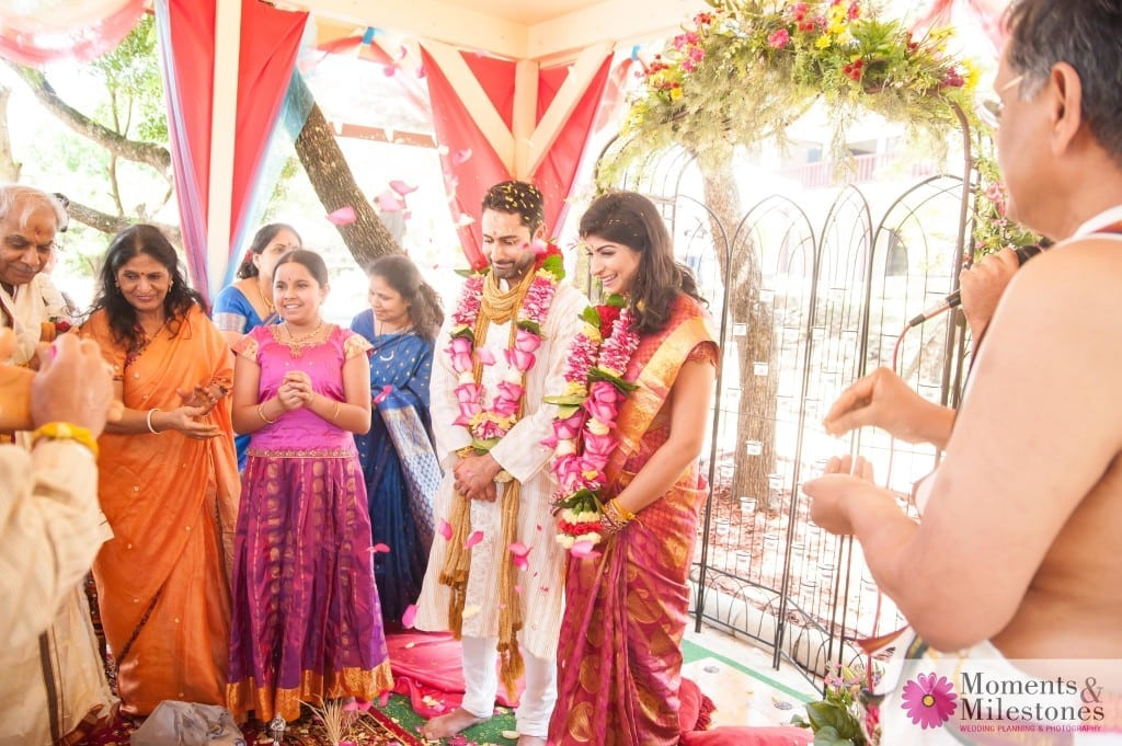 Beautiful Indian Engagement Ceremony