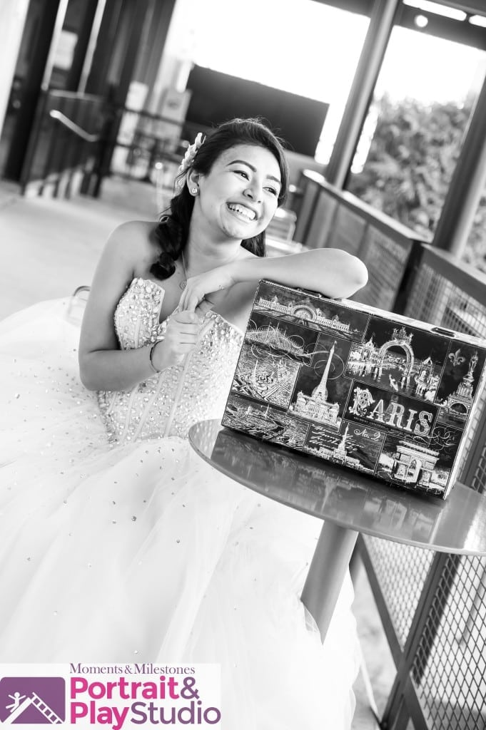 Contemporary Quinceanera Portrait