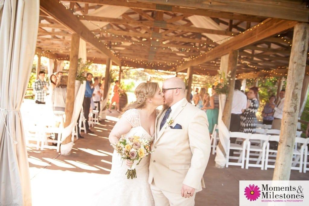 Wedding at Oak Valley Vineyard Wedding