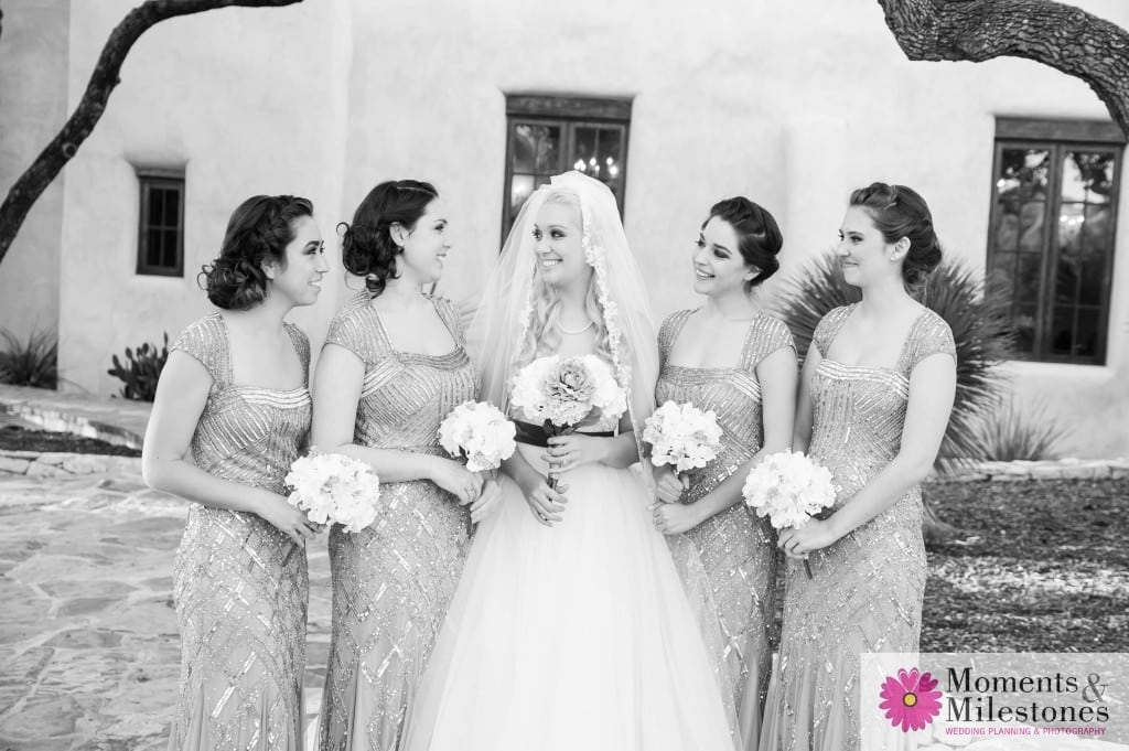 Rustic-Chic Bridal Photography with Bridesmaids