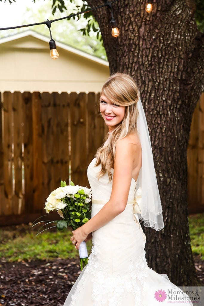 San Antonio Backyard DIY Wedding Photography