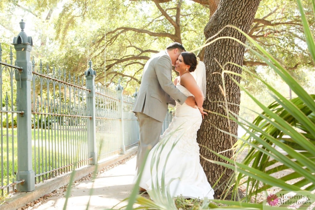 San Antonio Wedding under the King Williams Gazebo