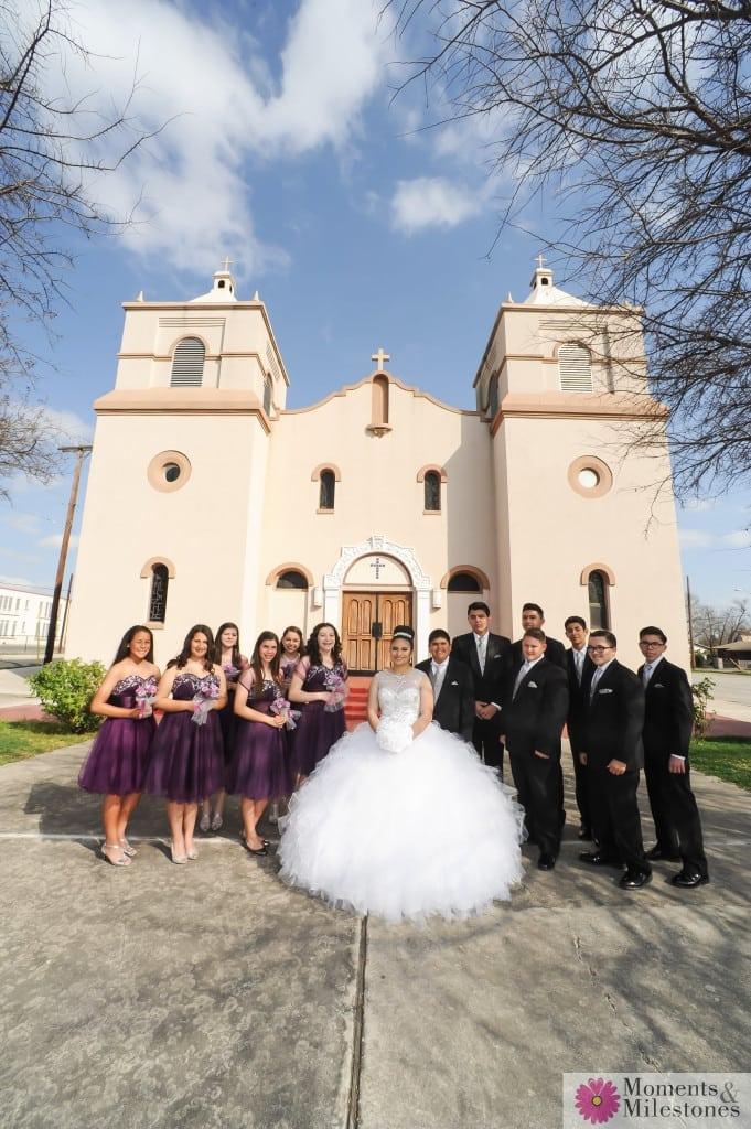 San Antonio Rosenberg Sky Room Quinceanera Photography