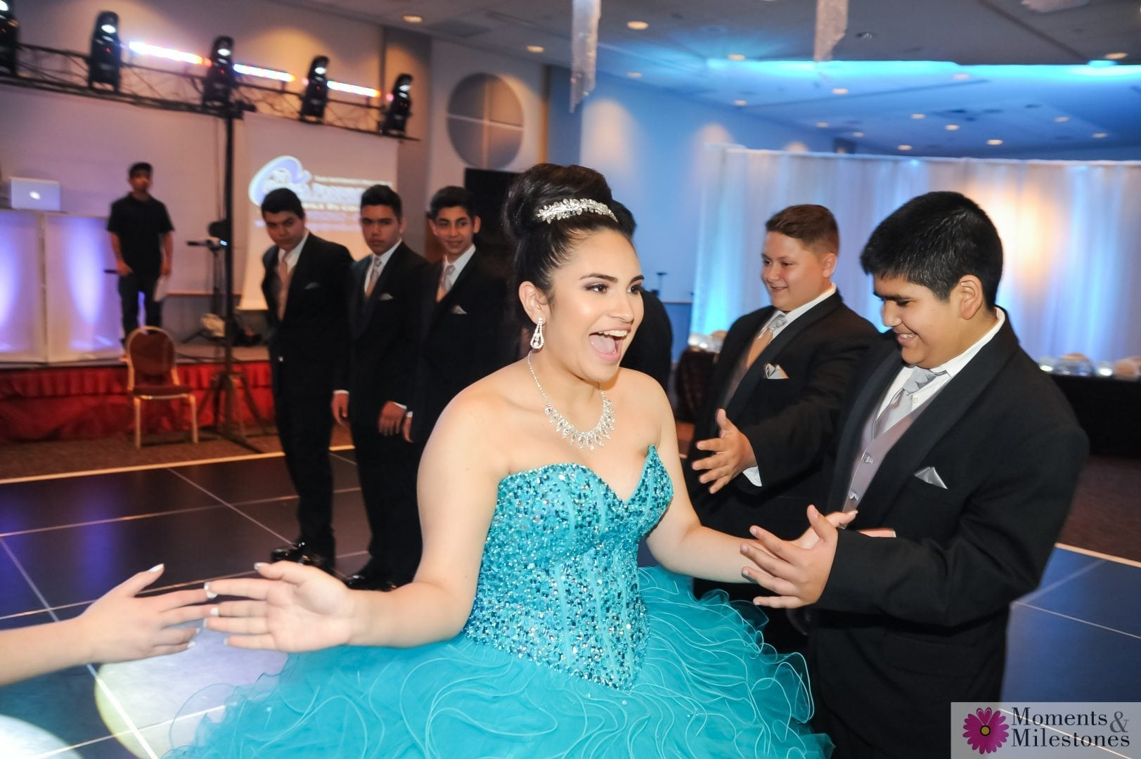 San Antonio Rosenberg Sky Room Quinceanera Photography