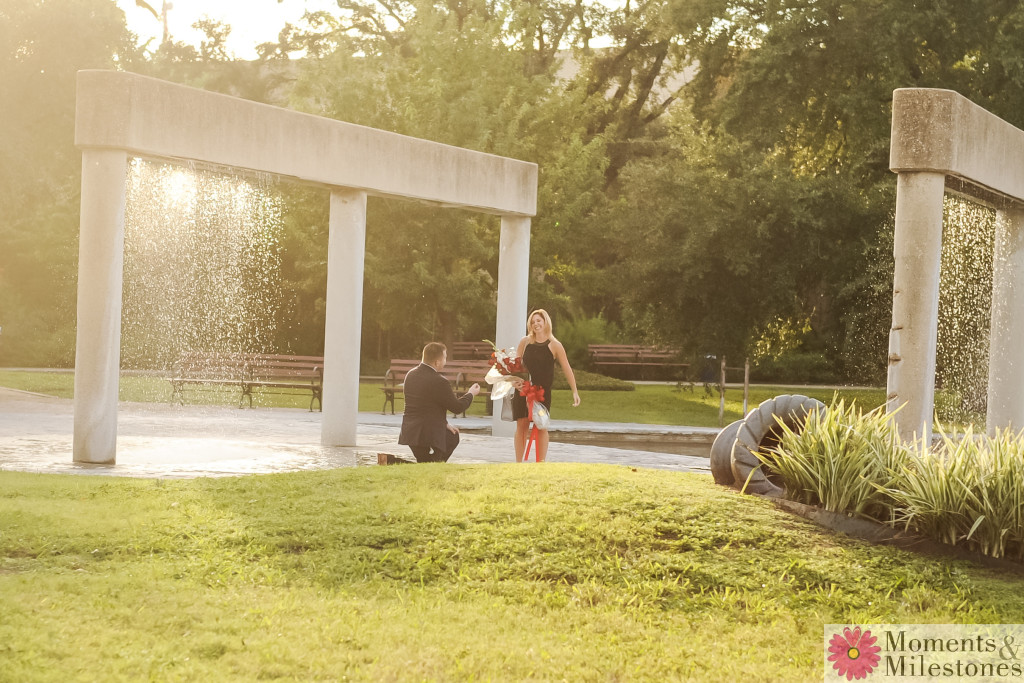 Downtown San Antonio Proposal Photography