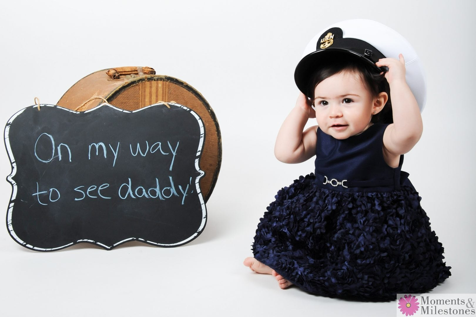 Daddy-Daughter Session for Veteran's Day