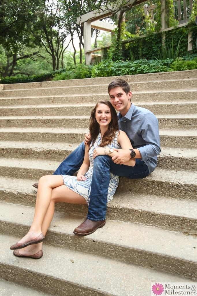 Morgan and Brent Sweet (and Silly) Engagement Session San Antonio Engagement Photography And Wedding Planning