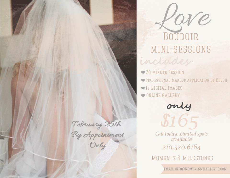 Boudoir Photography Mini-Sessions