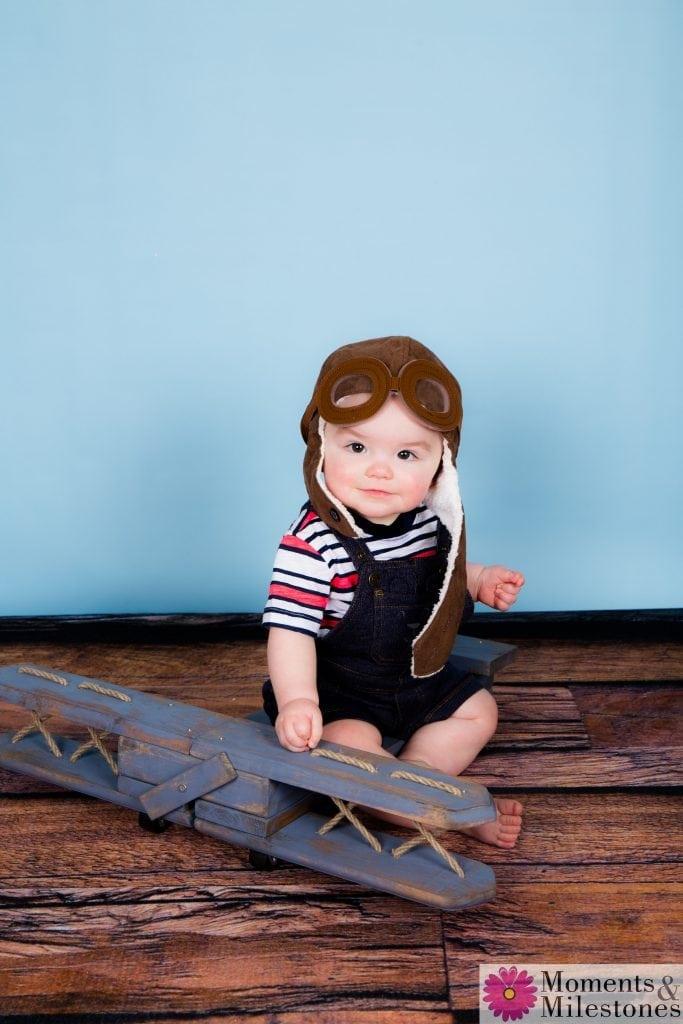 San Antonio Moments & Milestones Play Studio Family Child Photo Shoot