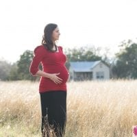San Antonio Contemporary Maternity Photography