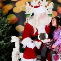 Santa Visits the M&M Photography Studio