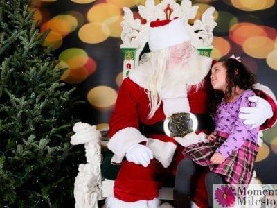 Santa Visits the M&M Photography Studio