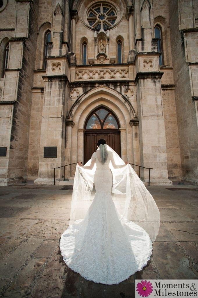 Nicole's Traditional Bridal Sessions San Fernando Cathedral San Antonio Wedding Photography