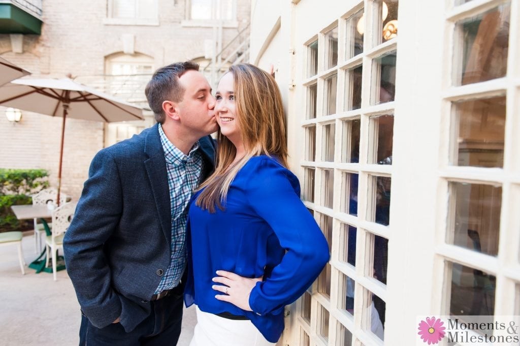 Emily & Mike's Engagement at The Menger Downtown San Antonio Hotel Wedding Planning Wedding Photography Engagement Photography