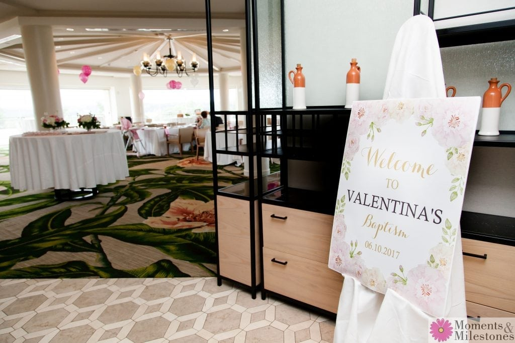 Valentinas Baptism & Reception Private Event Photography & Event Planning San Antonio La Cantera Spa & Resort