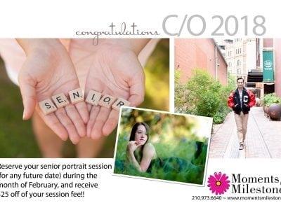Senior Portrait Session Discount San Antonio Teen Events