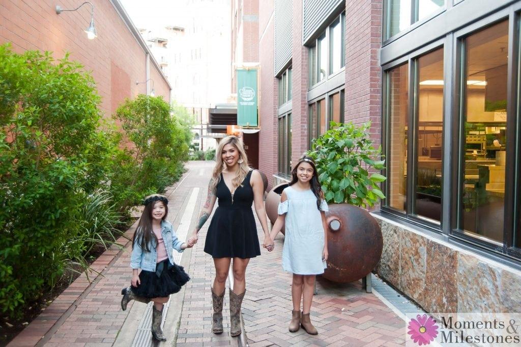 Stacia & Ryhan Lopez Family Session at The Pearl Downtown San Antonio