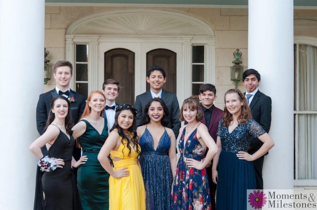 Churchill Highschool Prom Photos, Churchill Theater Prom Photography, High School Prom, Teen Group, High School Friends, Group Photos