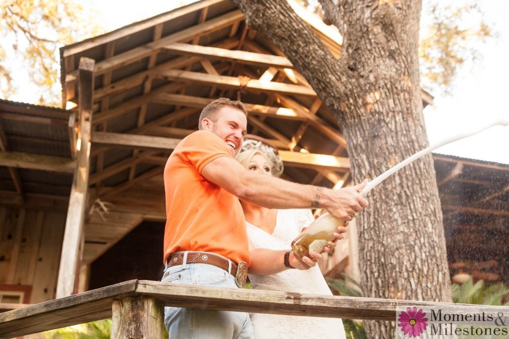 Katelyn & Luke's Gruene Engagement Photography Session with Moments & Milestones