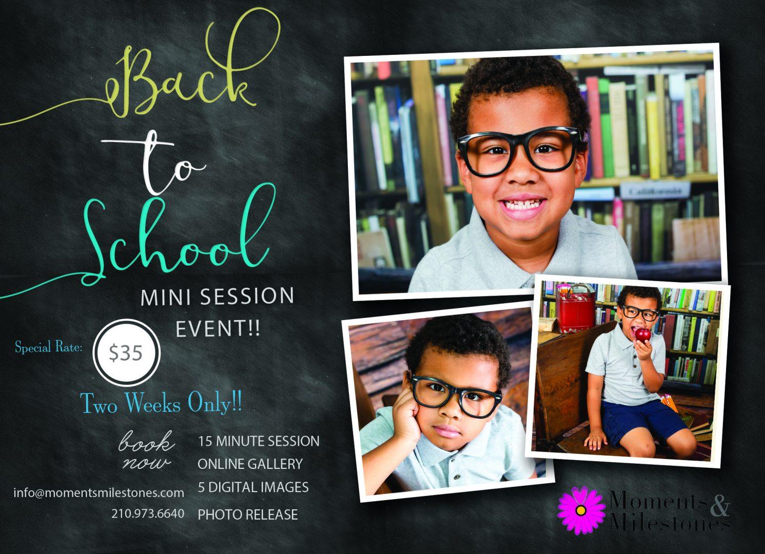 Back to School Mini Session Event!