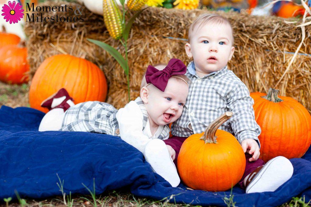 Emersyn & Kylan Best Friend Pumpkin Patch Session (12)
