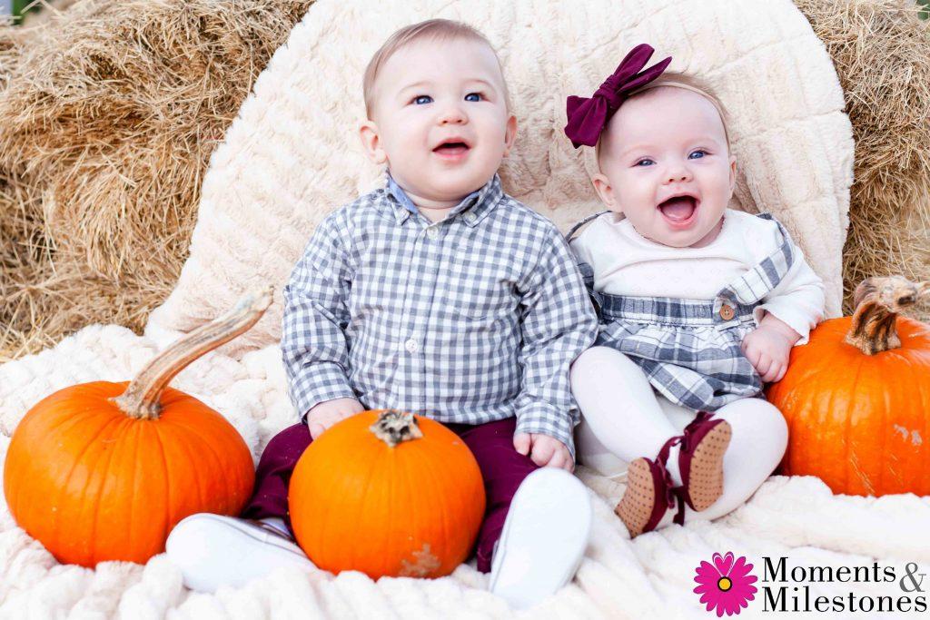 Emersyn & Kylan Best Friend Pumpkin Patch Session (2)