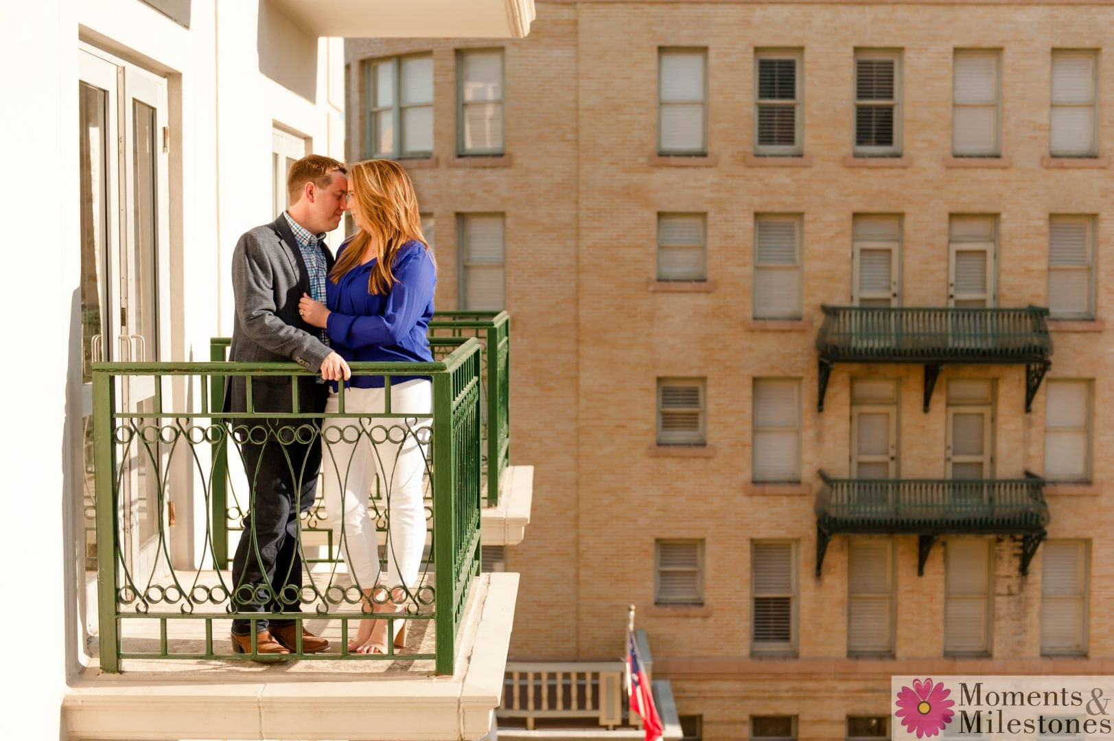 Emily & Mike's Engagement at The Menger