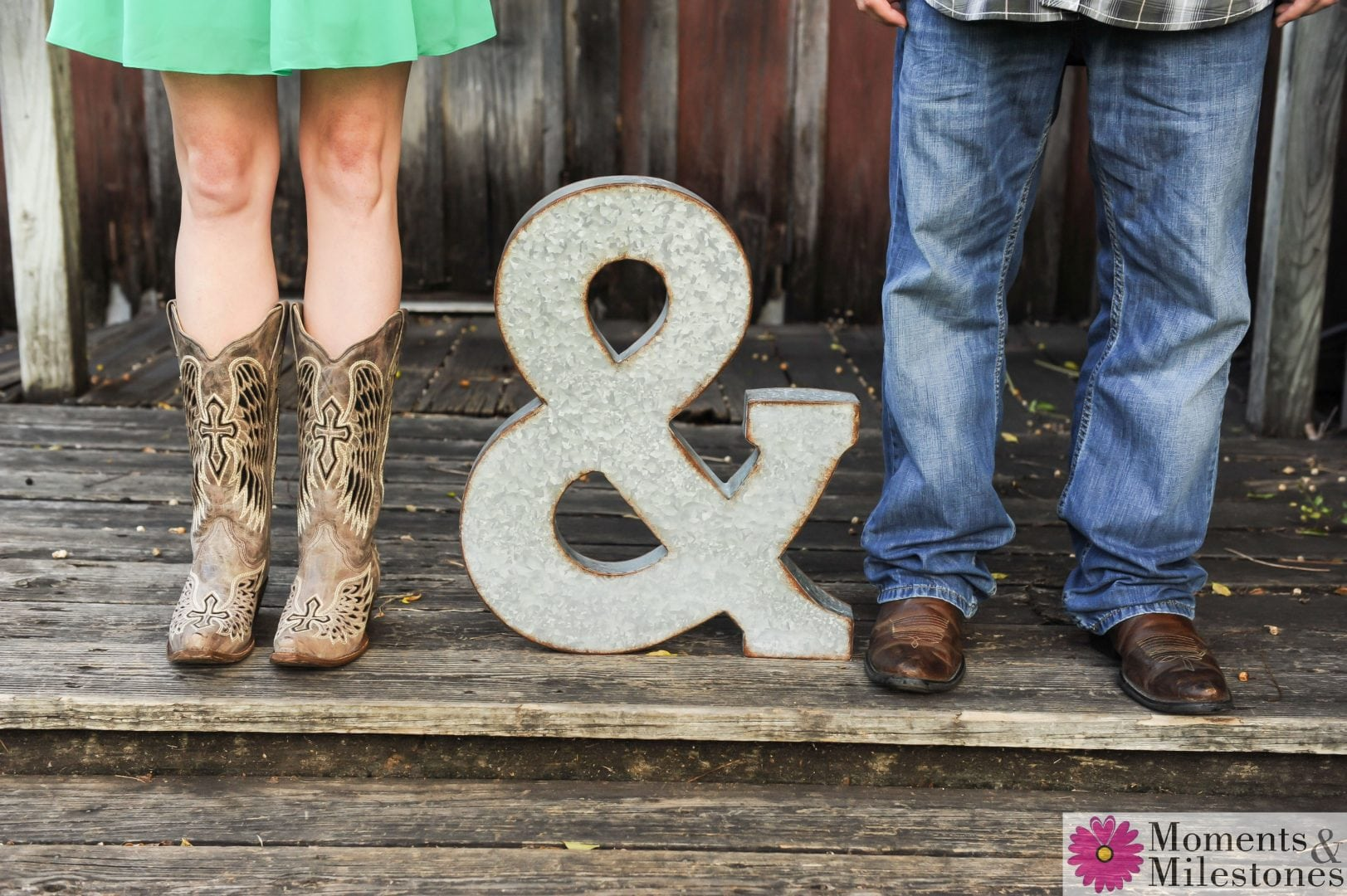 Kimberly & Alejandro's Gruene, TX E-Session