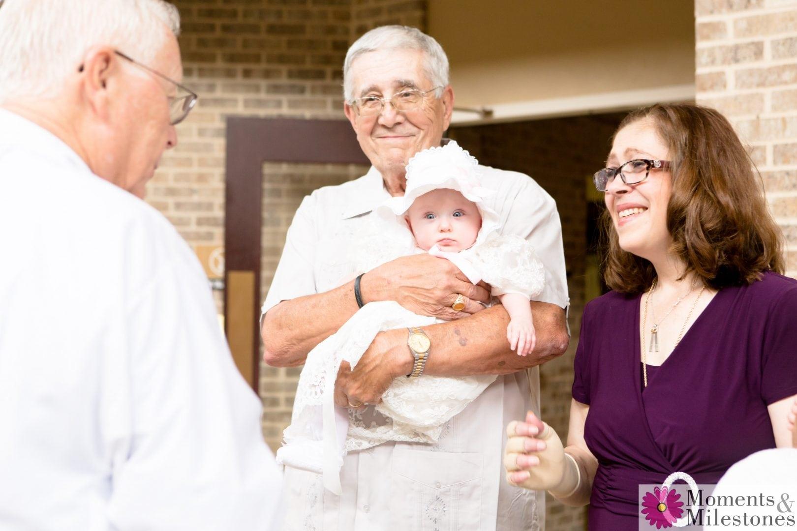 Baptism Photography at St. Matthews